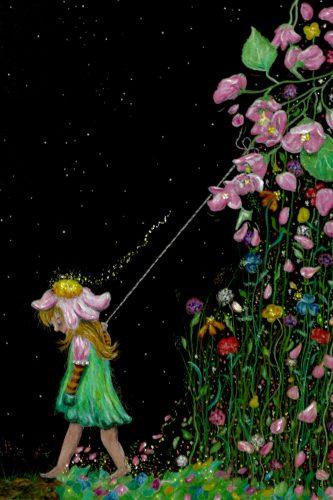 Kinder des Universums - Blumenkind