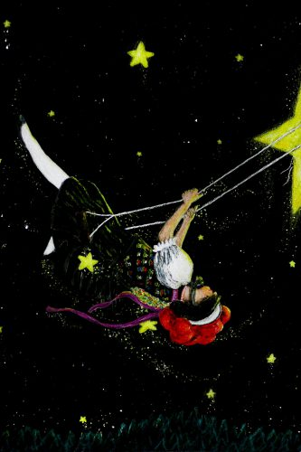 Nachts im Schwarzwald - Sternenklare Nacht